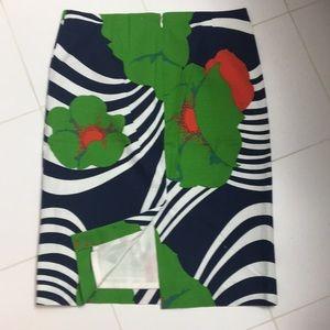 J. Crew Skirts - J. Crew tropical print skirt